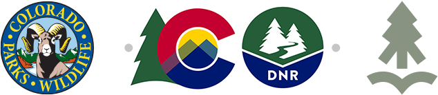 Colorado Parks and Wildlife, Department of Natural Resources Logos
