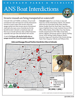 Colorado Parks & Wildlife - Boat ANS Inspection and
