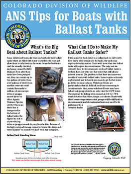 ​​​​Tips for Boats with Ballast Tanks