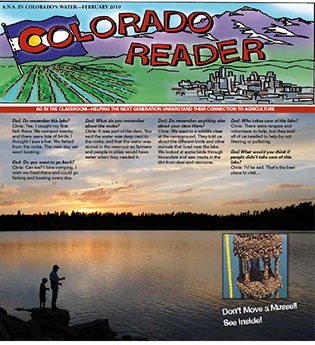 ​ANS Feature in Colorado Reader Cover