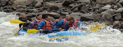 Rafters on the Arkansas River