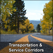 Transportation and Service Corridors