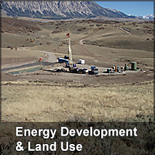 Energy Development and Land Use