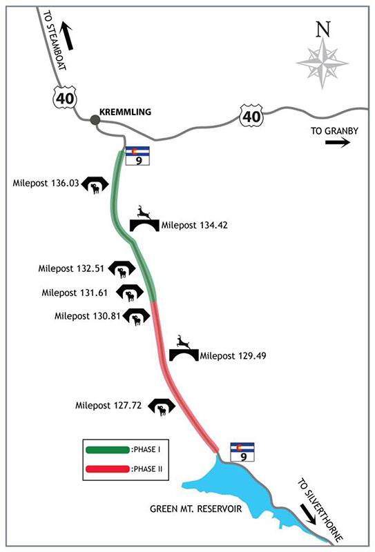 Colorado Parks Wildlife The Colorado Highway Wildlife - Colorado highway map