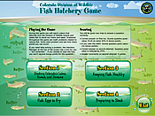 Play the fish hatchery game.