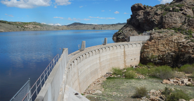 Tarryall Dam in Park County