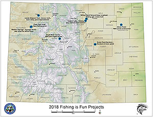 Fishing is Fun Projects Map