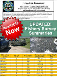 Fishery Survey Summaries cover image