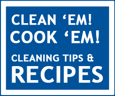 Cleaning and Cooking button