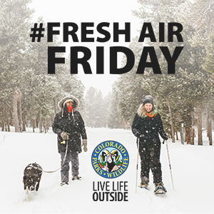 Colorado Parks Wildlife Get Out Give Thanks Fresh Air Friday