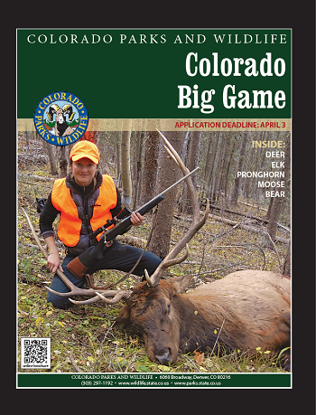 Colorado Big Game Brochure