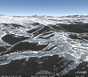 Colorado image from Google Earth © Google
