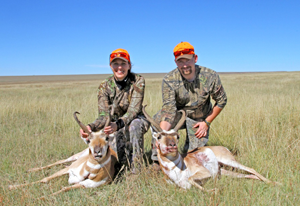 Successful Pronghorn hunt.