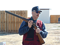 Shotgun safety instruction. Photo © CPW/T. Crisman.