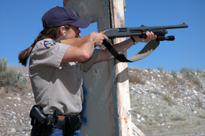 District Wildlife Managers participate in ongoing and progressive law enforcement training.