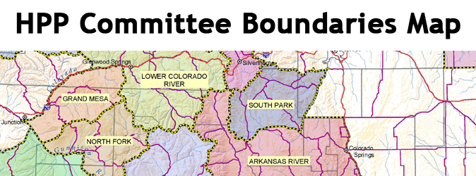Section of HPP Committee Boundaries Map