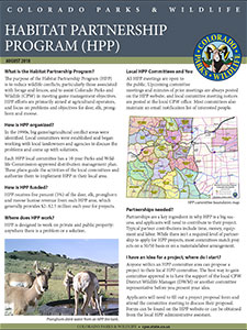 Abou the HPP Program cover
