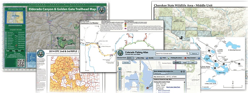Colorado Parks Wildlife Maps - Map for colorado