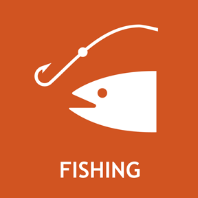Go fish! Colorado offers 35 species of fish amongst our resevoirs, streams, and lakes.