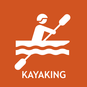 Kayaking information.
