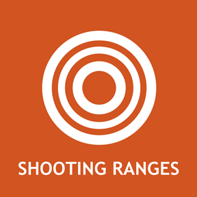 Shooting range information for archery and firearms.