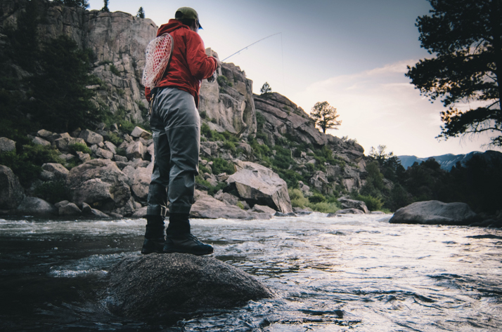 Fly fishing at Arkansas Headwaters Recreation Area