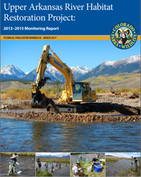 ​Upper Arkansas River Habitat Restoration Project cover