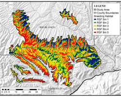 Greater sage-grouse map