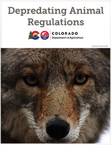 Depredating Animal Regulations Brochure