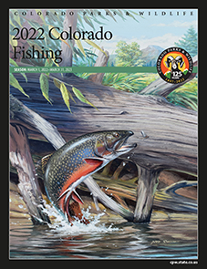 2016 Fishing brochure cover