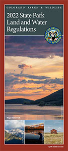 State Parks Land and Water Regulations Brochure image