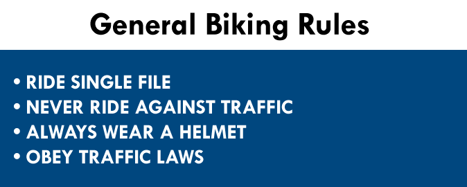 General Biking Rules