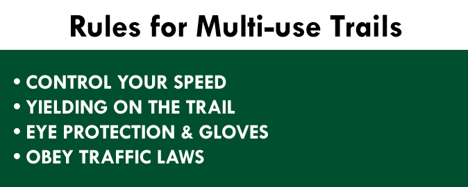 Multi-use Trail Rules