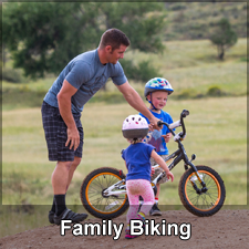 Family biking Opportunities