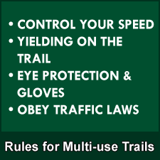 Rules for Multi-use Trails