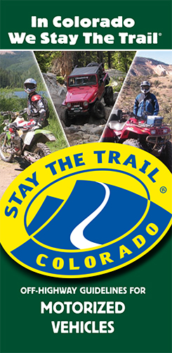 Stay The trail Guidelines for Motorized Vehicles
