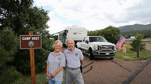 Chatfield Camp Host Volunteers