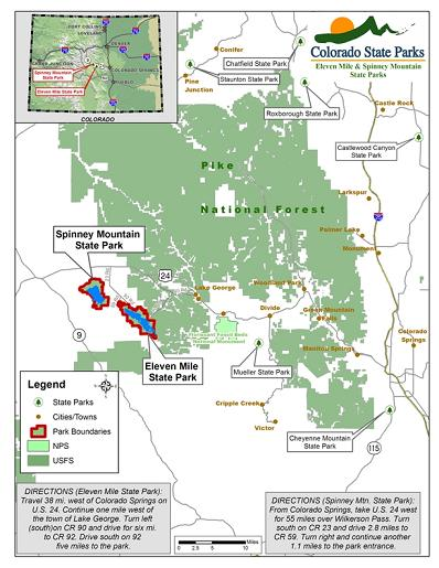 Colorado Parks Amp Wildlife Maps And Directions