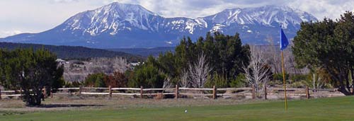 Walsenburg Golf Course. Image courtesy of Joanthan D Kelly.