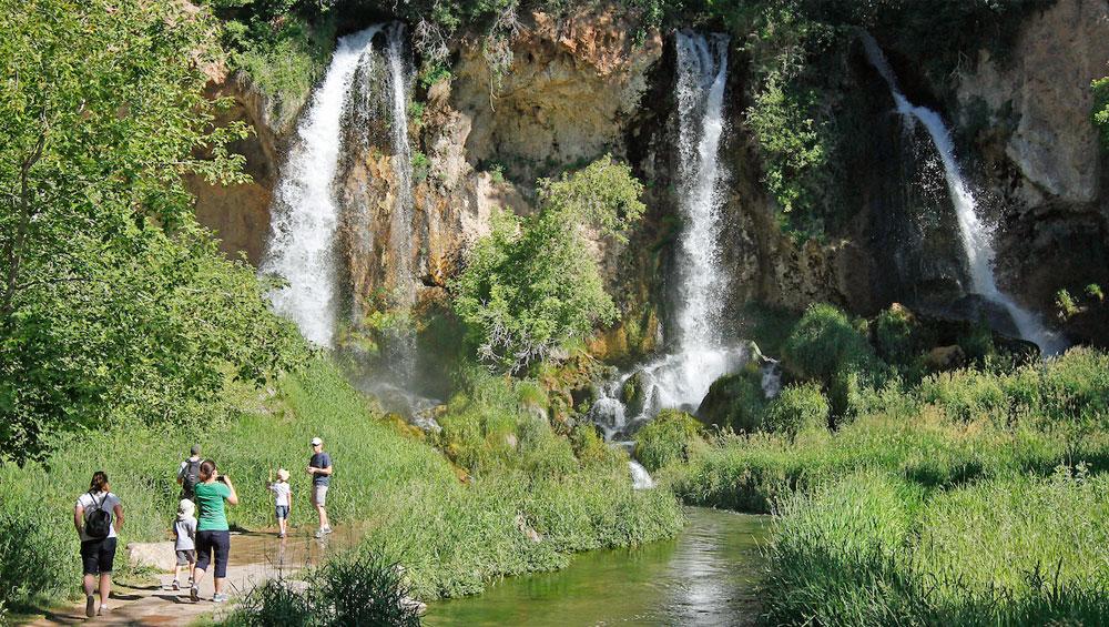 Colorado Parks Wildlife Rifle Falls - Colorado waterfalls map
