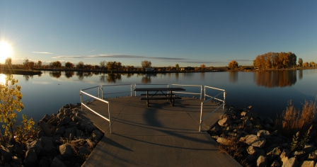 Handicap-Accessible Fishing Piers