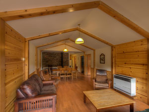 Cabin 1 - living room
