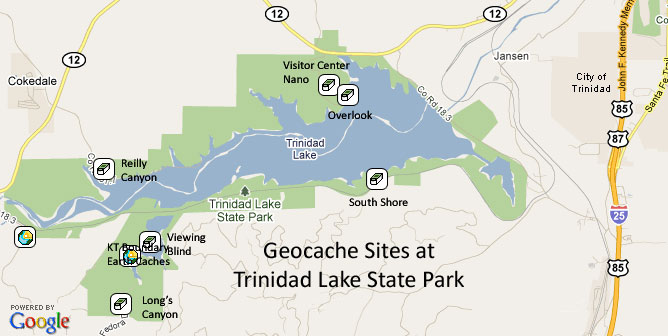 Colorado Parks Wildlife Geocaching