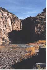 Cross Mountain within the Yampa River