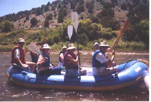 Rafting Juniper Canyon