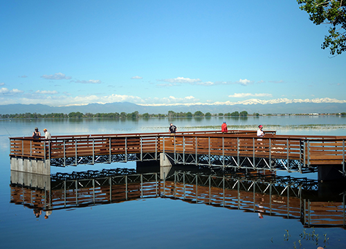 Barr Lake Accessible Fishing Pier