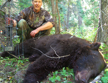 Joe Farago's black bear